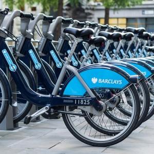 Bicicletas en Londres - autor